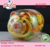 10 pcs Baby Bell Rattle