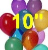 "10"" std latex balloons"