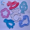 100% FDA Liquid Silicone  Baby Teether