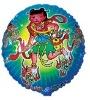 100% aluminium foil Special cartoon helium balloon