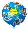 100% aluminium foil high quality Special cartoon helium balloon