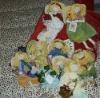100%cotton(12 pieces/set)cotton toy