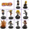 10pc NARUTO Uzumaki Nine Tail Fox Gashapon Figure set