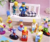 10pcs/Lot The Simpsons Action FIgures Homer Simpson NEw