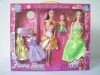 "11.5"" DOLL Set.Doll,Children toy,plastic doll,toy beauty set,fashion doll,doll set,"