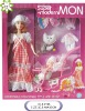"""11.5"""" fashion doll with stoller"""