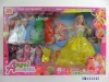 11.5 inch fashion girl doll set with clothes