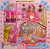 "11.5"" plastic doll,  fashion doll"