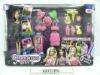 11.5Inch Fashion Doll Set, Toy Doll For Girls