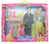 "11"" doll couple dolls series"