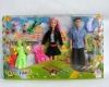11 inch doll kits with mini doll&5set of dress