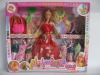 11 inch doll with 6 set of dress