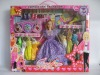 11 inch dolls with 8 set of dress
