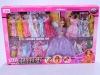 11'' plastic fashion doll