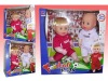 12 inch football doll with IC