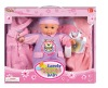 """12"""" music change clothes baby doll set"""