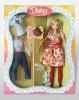 "12"" plastic doll set"