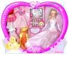"""12"""" pretty bride doll"""