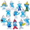 12x The Smurfs Smurfette Jokey Figure Key Chain Set