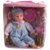 "13"" Baby gift 2012 newly toy real vinyl doll cloth plastic doll toy gift"