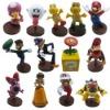 13x Official Super Mario Waluigi Bowser Figure Set