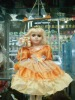 14 inch ceramic fashion doll