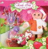 14 inch fashion cute girl doll with doctor sets baby toys