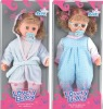 14 inch plastic crying baby doll with sound