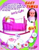 """16""""  6in1 baby toy doll set"""
