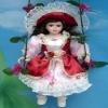 16'' Swing Porcelain Doll 16-6-1