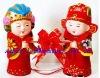 16cm chinese plastic dolls