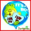 18'' Birthday Foil Balloons/ Mylar Balloons/ Round Helium Aluminium Foil Balloons