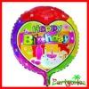 18 Inch Happy Birthday Foil Balloons