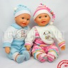 """18"""" Lovely Musical Double Toy Doll D01111"""