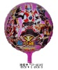 18 inch Round Shape Armor Warriors Balloons