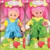 18 inch plastic lovely doll beautiful baby doll with wink