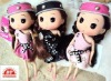 18CM plastic long leg ddung doll