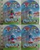 2.5 inch cartoon smurf dolls