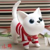 20 CM plastic pet dog  figurine