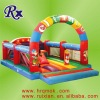 2010 Attractive Cartoon Newest Style Inflatable Jumping Bed