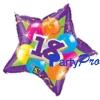 2010 newest decoration inflatable mylar balloon(star shape)
