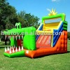 2011 Funny Shark and Cat inflatable slide