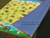 2011 NEWLY colorful printting plastic mat for baby playing GOOD PRINTING