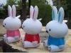 2011 hot plastic rabbit toy