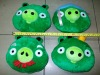 2011 hot selling New green pig plush soft toys,