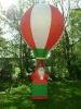 2011 hot-selling inflatable Christmas Santa hot air balloon,advertising balloon