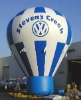 2011 hot-selling inflatable hot air balloon,advertising balloon