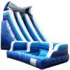 2011 new design curvy water slides
