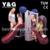2011NEW kids indoor plastic slide