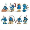 2012 6 inch smurf doll for kid